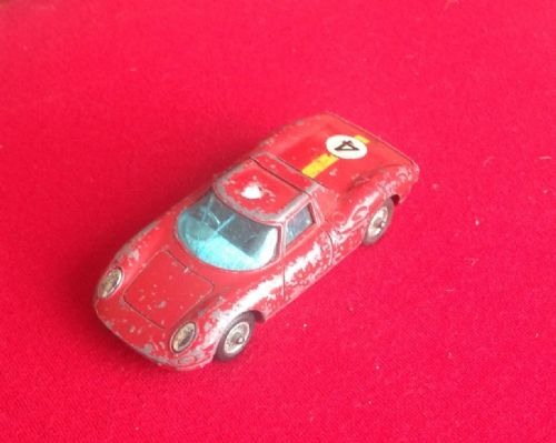 Corgi #314 - Original - Ferrari Berlinetta 250 Le Mans ( Broken Windscreen )
